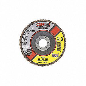 DISC FLAP Z3 T27 REG 5X7/8 120GR