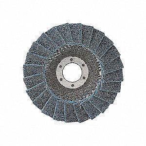 DISC FLAP 4-1/2X7/8 VERY FINE
