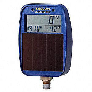 Solar Replacement Gauge,Low Side
