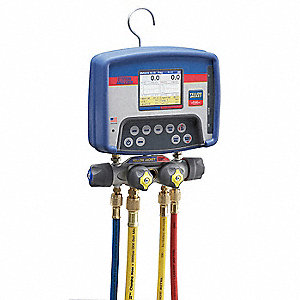 Refrigerant Digital Analyzer,4-Valve