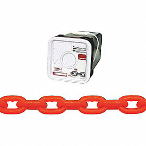 CHAIN 5/16IN HI-VIS ORG SYS 4 60FT/