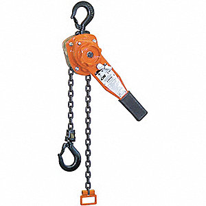 HOIST LEVER 3/4 TON 5FT LIFT