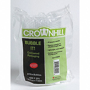 BUBBLE BAGGED 3/16X12X100 2/CA