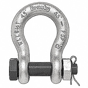 SHACKLE ANCHOR BT GALV 17T