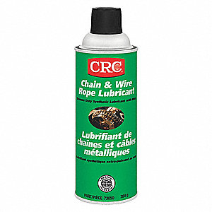LUBE CHAIN + WIRE ROPE 284G AEROSOL
