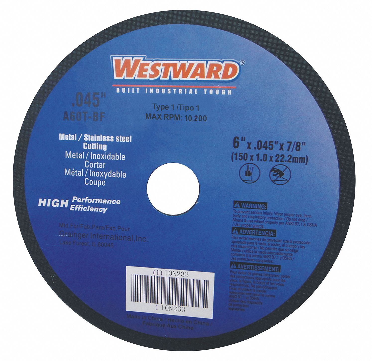 Abrasive Cut-off And Chop Wheels