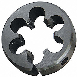 HSS Adj Thread Die,2In, 11/16In,11 Pitch