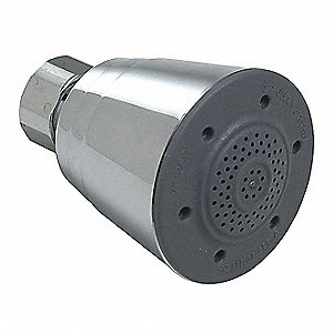 Metal, Plastic Wall Mounted, Shower Head