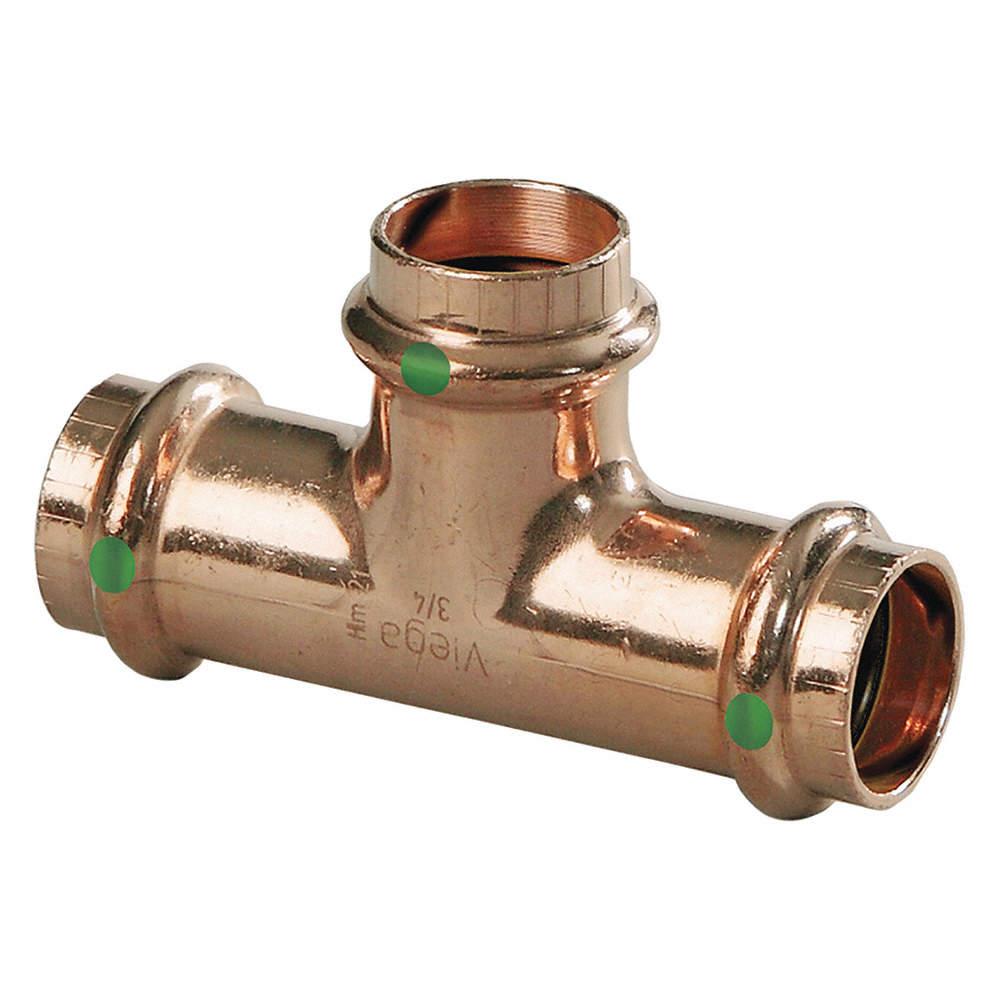 Viega Propress Copper Tee Press X Press X Press Connection Type