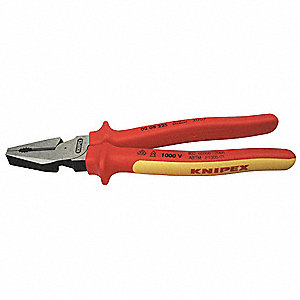 Insulated Linemans Pliers,9 In