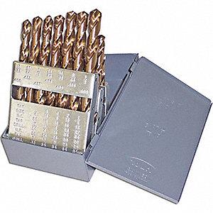 DRILL SET M42 1/16-1/2X1-32 15C