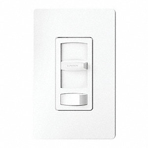 Lighting Dimmer, Rocker, CFL, LED, Halogen, Incandescent Lamp Type, 1-Pole, 3-Way Switch Type