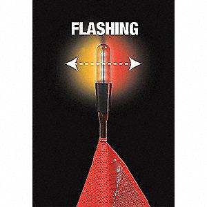 LIGHT LED AMBER/RED ALT 3X