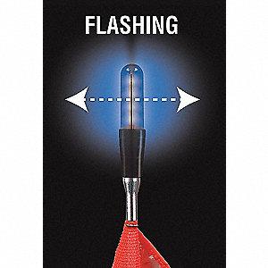 FLAGSTAFF LED FLASH BL 6FT