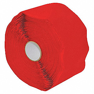 TAPE RED 20MIL SF 25.4MMX10.96M
