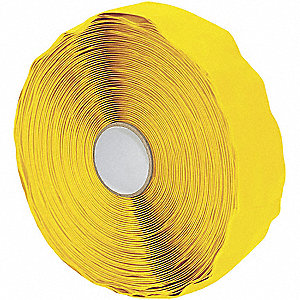 TAPE YELLOW 30MIL SF 25.4MMX10.96M