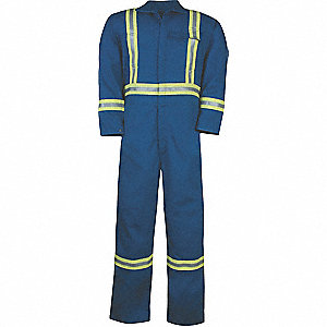 COVERALLS ULTRA SOFT W/REFLECTIVE