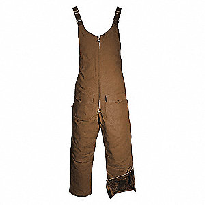 COVERALLS HYDRO BIB BROWN 2X-LARGE