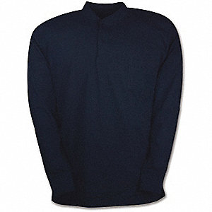 SHIRT HENLEY 7.5OZ W/POCKET NAVY