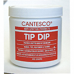 JAR NOZZLE TIP DIP PLASTIC 400G