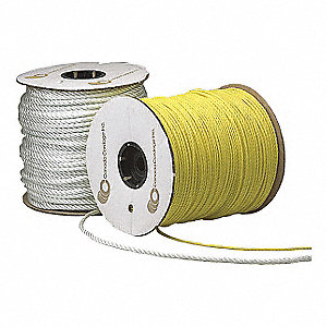 ROPE NYLON WHITE JUMBO 3/8IN 630FT