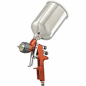 GUN SPRAY + CUP 1.2 1.3MM 7E7
