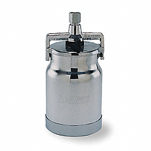 CUP SUCTION FEED ALUM 1QT