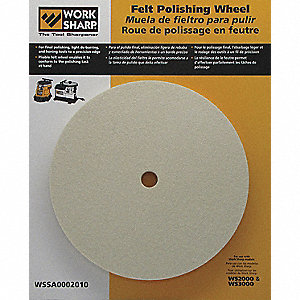 FELT POLISHING WHEEL FOR WS2000