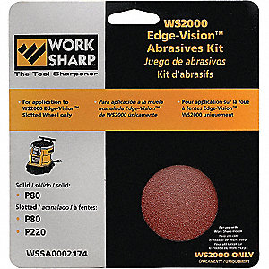 ABRASIVE KIT FOR WS2000