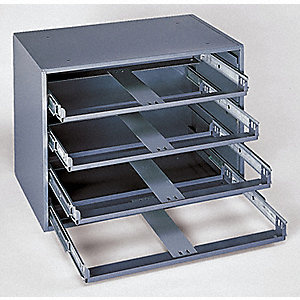 SLIDE RACK HOLDS 4 BOXES