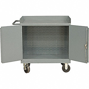 CABINET MOBILE LOUVERED PANEL