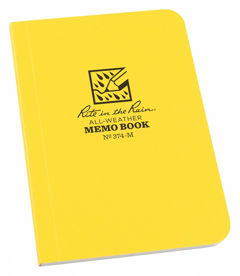 All Weather Notebook,  3-1/2 in x 5 in