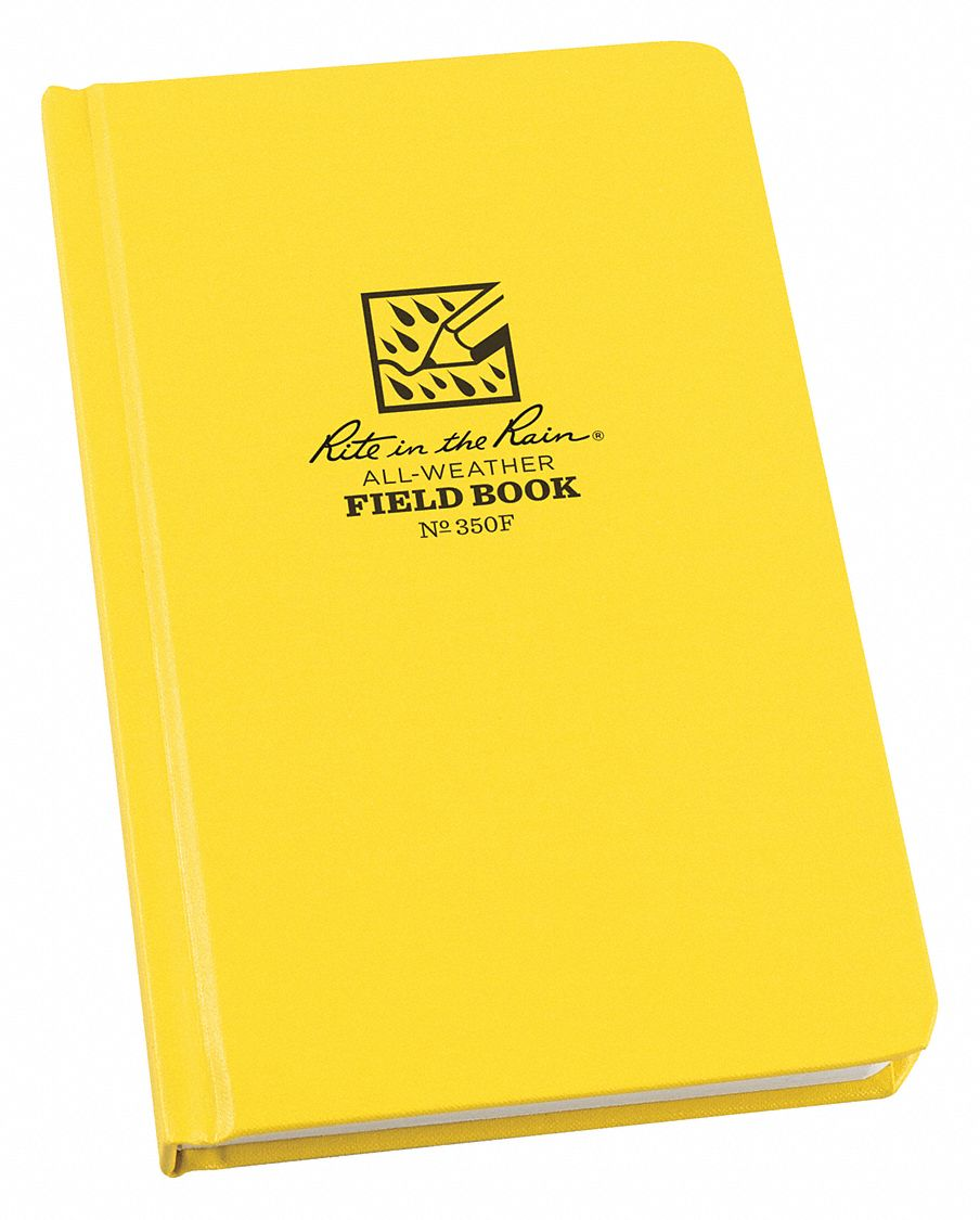 All Weather Notebook,  4-3/4 in x 7-1/2 in