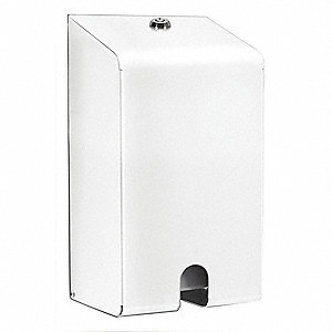 White Security Enclosure, Use With 1VZP4