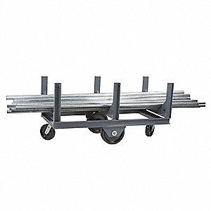 Mobile Bar Cradle Rack,H 30,W 28,L 96