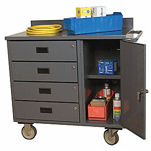 ECNO MOBILE CART 21X45X34 4 DR #95