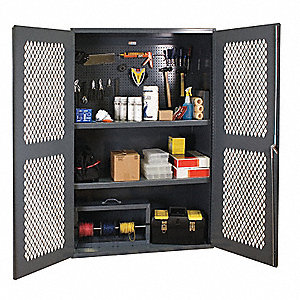 CABINET - CLEARVIEW AND VENTILATED