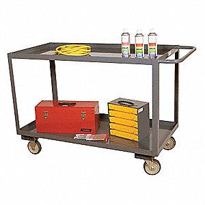 Assembled Utility Cart,36 L,1200 lb.