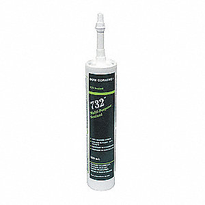 SEALANT SILICON WH 300ML CARTRIDGE