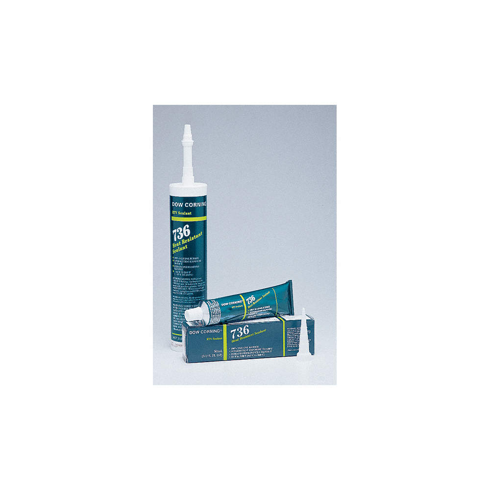 DOW CORNING SEALANT SILICONE HH RED 10 3 OZ - Gasket