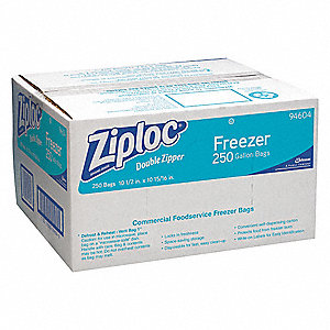 BAG ZIPLOC 1GAL FREEZR 2.7MIL 250/C
