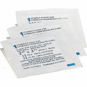 PADS GAUZE STERILE 2INX2IN 25/PKG