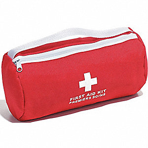 KIT FIRST AID ALB PERSONAL NYLON GN