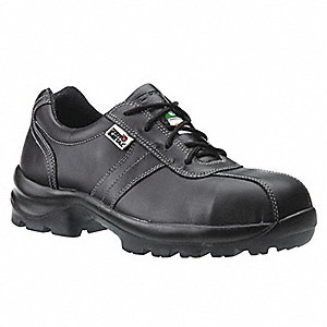 SHOE SAFETY ZERO METAL BLACK