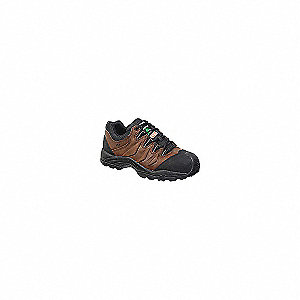 SHOE JOGGER SAF COMP T+P BROWN
