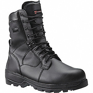 BOOT SOFT TOE 8IN DYNA BLK