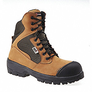 BOOT SAFETY 6IN ZERO METAL KHAKI