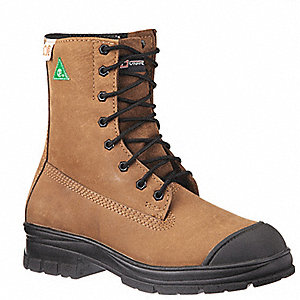 BOOT SAFETY 8IN HYBRID TAN