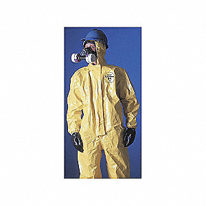 COVERALLS CHEMICAL PROTECT LEVEL B