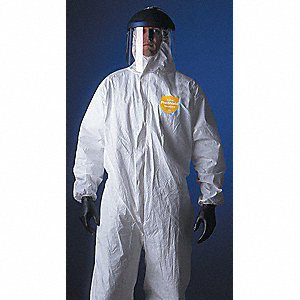 COVERALLS PROSHIELD NG ZIP W/HOOD